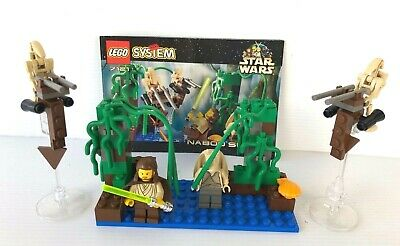 LEGO Star Wars 7121 Naboo Swamp complet + instruction 1999
