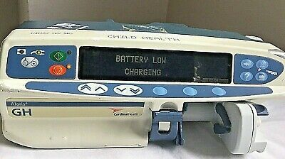 ALARIS CAREFUSION HEALTH GH SYRINGE DRIVER INFUSION PUMP Medical Anaesthesia