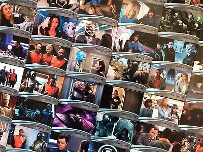 THE ORVILLE Season One Trading Cards: 1x COMPLETE 72 Card BASE SET (Rittenhouse)