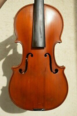 Old French violin SARASATE EL. stamped ''JTL''