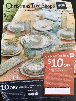 Christmas Tree Shops Coupon 20 Off Purchase In Store Only