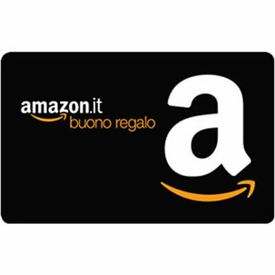 Buono regalo Amazon.it da 25,94 euro a 31,50 euro Amazon gift card