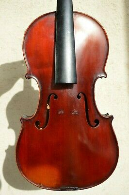 Old French violin '' P. Blanchard à Lyon '' 1904
