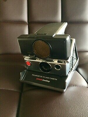 Vintage Polaroid SX-70 Land Camera Sonar One-Step