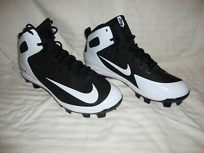 designer fashion 7533f 18536 New Nike 923433-011 Men s Alpha Huarache Pro Baseball MCS Cleats Size 8.5  Black