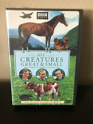 SEALED All Creatures Great and Small - Series One Set (DVD, 2002, 4-Disc Set