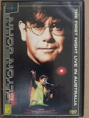 Elton John  - The First Night Live In Australia -  Dvd