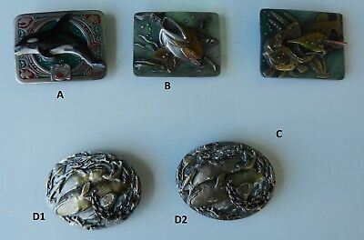 Belt Buckle Killer Whale Orca Ocean Fishing Orca Genuine Made in USA