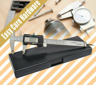 ELECTRONIC DIGITAL CALIPERS VERNIER LCD stainless steel hardened 150mm