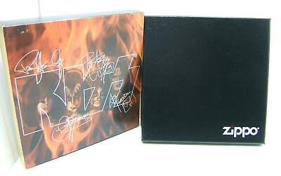 Zippo Complete Boxd set Kiss  Lighters - MIB