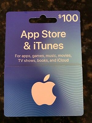 $100 App Store and iTunes Gift Card - Physical Card