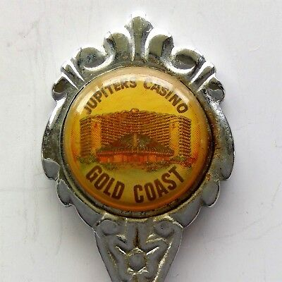 Jupiters Casino Gold Coast Souvenir Spoon Teaspoon (T114)