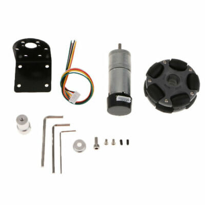 FJ- Robot Car Electronic flaccid Kit 9V Reduction Motor Coupling Robotics Assemb