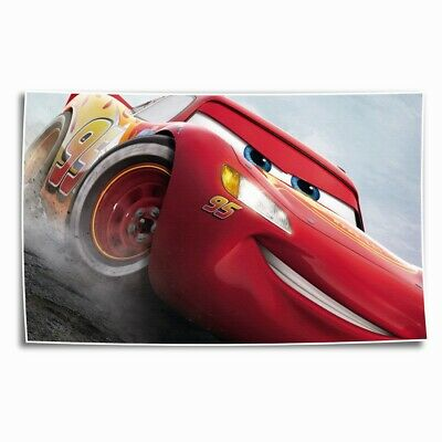 Lightning McQueen HD Canvas prints Painting Home Decor Picture Room Wall art