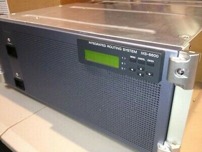 Sony IXS-6600 HD-SDI multiformat router and IKS-6030M