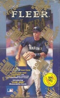 2000 Fleer Ultra Baseball Complete Your Set Pick 25 Cards From List
