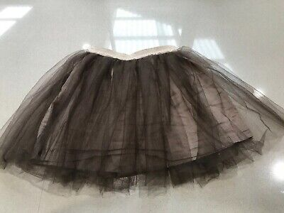 LOVELY WITCHERY KIDS SKIRT SIZE 6 GIRLS Brown Skirt With Gold Band