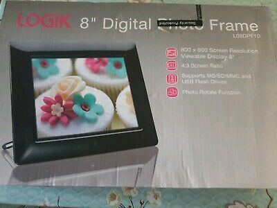 "Logik 8"" Digital Photo Frame BNIB"