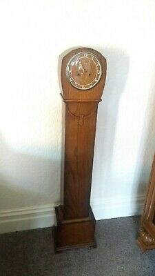 Original Antique Art Deco Smiths Granddaughter Clock Working Perfectly