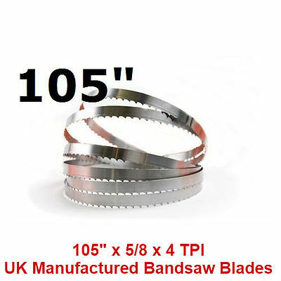 Butchers Meat Bandsaw Blades (5 Pack) - 105""