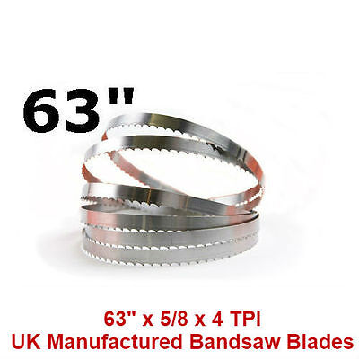 Butchers Meat Bandsaw Blades (10 Pack) - 63""