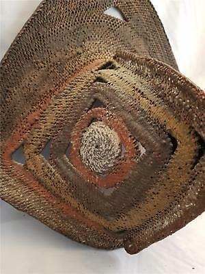 Abelam Woven Painted Yam Mask New Guinea  Png *