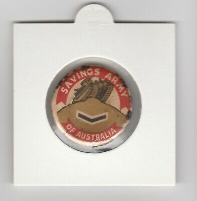 Savings Army of Australia Lance Corporal tinny badge  approx. 25mms