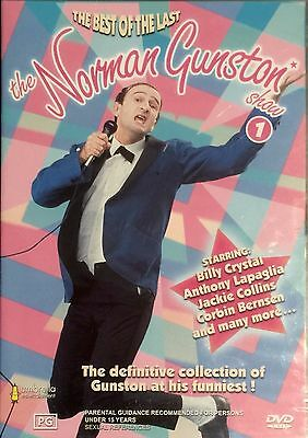 The Norman Gunston Show : Vol 1 (DVD, 2002)   RARE  OOP   BRAND NEW & SEALED