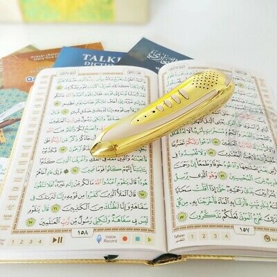 Book Holy Quran Reading Pen Muslim Koran pen French English Urdu Spanish Russian