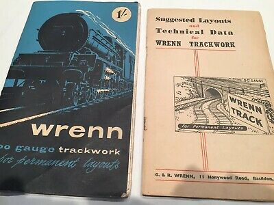 Wrenn Track Plan And Technical Data Books Suit Hornby Dublo Triang HO OO