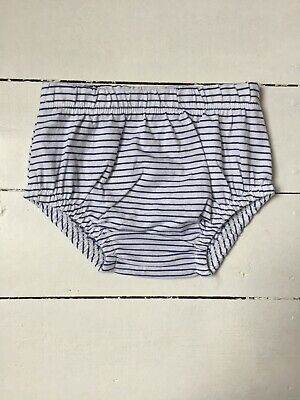 Tu Baby Girl Stripy Knickers Pants Nappy Cover 3-6