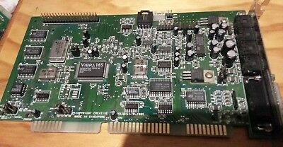 Creative Vibra 16 Sound card CT2800 ISA card close to new with IDE interface