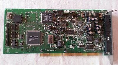 Creative Sound Blaster CT2950 ISA card with IDE interface - tested