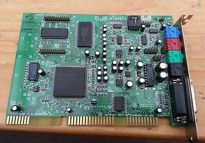 Creative Sound Blaster AWE64 Value CT4520 ISA card excellent condition - tested