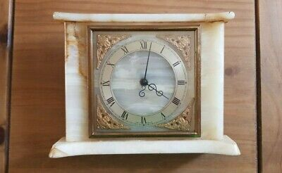 Tempora Marble Vintage 1960s Clock (for spares and repairs)