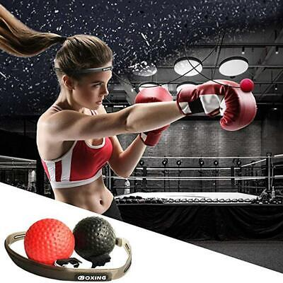 Boxing Punch Exercise Fight Ball &Head Band For Reflex Speed Training-Boxing