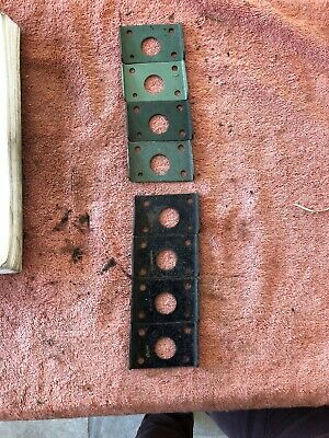 de havilland Tiger Moth Wing LH And RH Washer Plate ( 35213 & 35214)