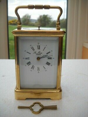 Lovely French Repeating Striking Carriage Clock By L,epee In G.w.o.
