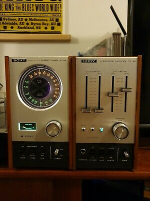 Vintage Sony TA 88 Amp ST 88 Stereo tuner