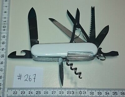 ADLER Messer Germany GML 5-Layer vintage pocket knife / tool - 14 functions #267