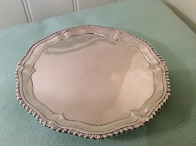 Antique Sterling Silver Salver George III Richard Rugg 1764-65