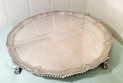 Antique Sterling Silver Salver George III Richard Rugg 1768-69
