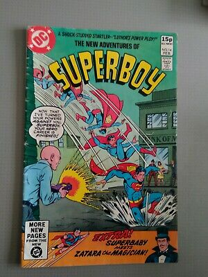 The New Adventures Of Superboy #14. Pence Version