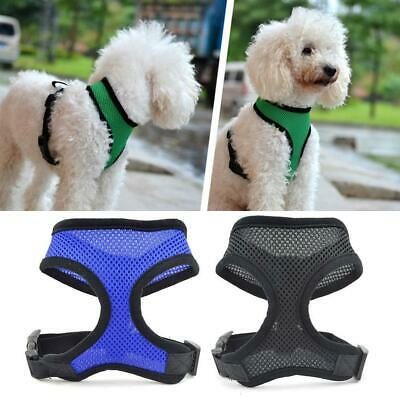 Pet Control Soft Walk Collar Mesh Harness for Dog & Cat  Safety Strap Vest-Puppy