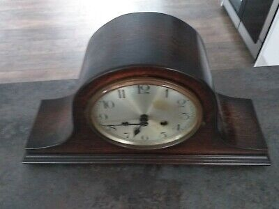 German Napoleon Hat Mantel Clock Strikes On The Hour Stunning