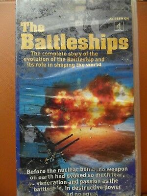 'Battleships' Volumes 1-4 as seen on Channel 4.  Video x 2. Used