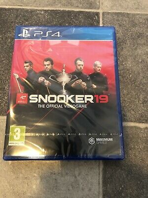 Snooker 19 - The Official Video Game PS4 Brand New And Sealed