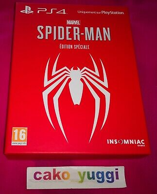 Marvel Spider-Man Edition Speciale Sony Ps4 Neuf Scelle Sealed 100% Francais