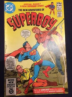The new adventures of Superboy #19 July 1981