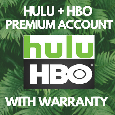 HULU Premium Account ✅ HBO ADD ON ⭐ WITH WARRANTY & FAST DELIVERY ⭐ GIFT 🎁